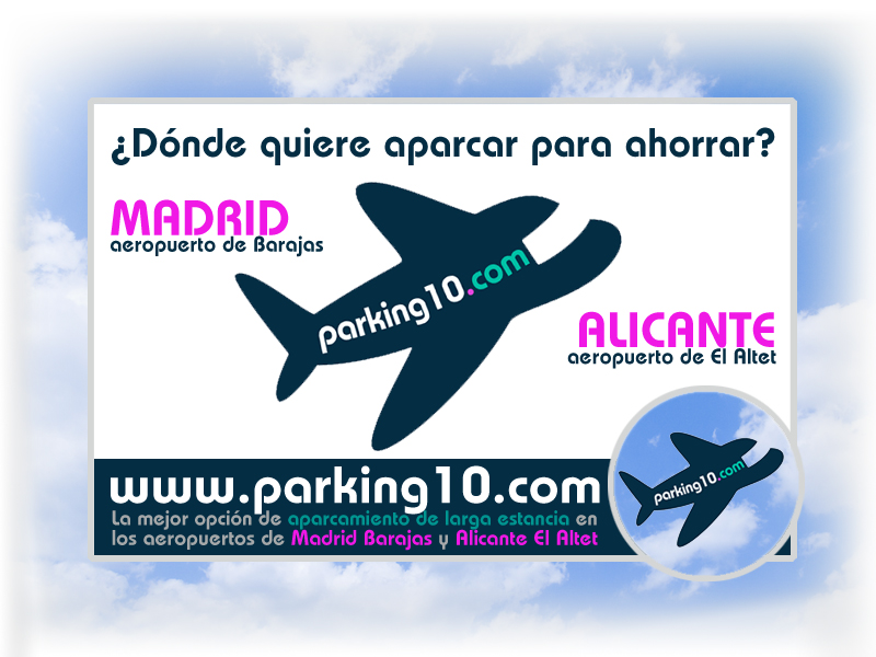PARKING10_parking_barato_cheap_aeropuerto_airport_Madrid_Barajas_Alicante_El Altet_low_cost_secure_long_stay_Spain
